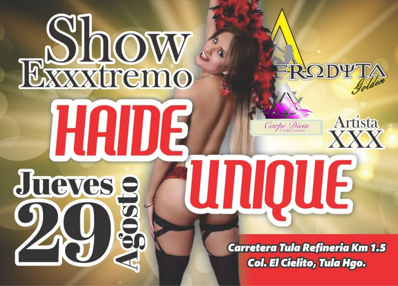 show extremo haide